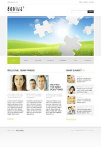 Typo3 Template 35309